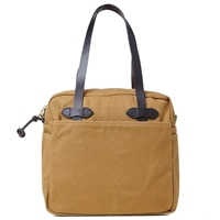 Filson Zip Tote Bag Tan