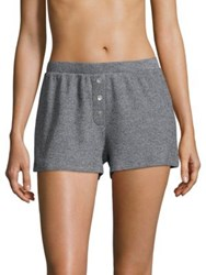 Saks Fifth Avenue Collection Kylie Boxer Shorts Heather Grey