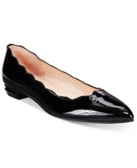 French Sole Fs Ny Tequila Flats Women's Shoes Black Patent