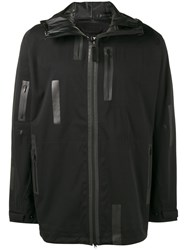 Y3 Sport Rain Zip Jacket Black