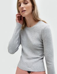 Which We Want Crossback Sweater In Grey