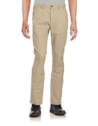 Black Brown Big And Tall Tailored Chino Pants Light Tan