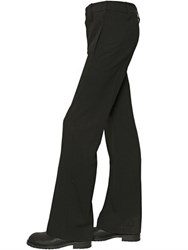 Ann Demeulemeester 28Cm Light Wool Gabardine Wide Leg Pants