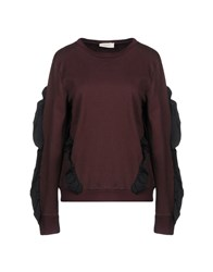 Vicolo Sweatshirts Deep Purple
