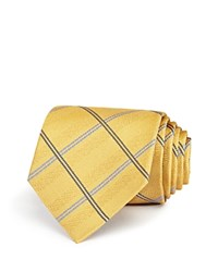 Burma Bibas Plaid Silk Classic Tie Compare At 49.50 Gold