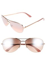 Juicy Couture Women's Shades Of By 60Mm Gradient Aviator Sunglasses Red Gold