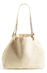 Echo 'Aruba' Metallic Beach Tote Gold