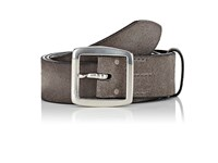 Felisi Men's Brushed Suede Belt Grey