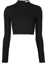 Tanya Taylor 'Ren' Ribbed Sweater Black