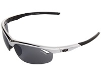 Tifosi Optics Veloce Interchangeable Race Black Smoke Ac Red Clear Lens Sport Sunglasses