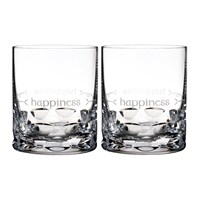 Waterford Ogham Dof Tumbler Set Of 2 Happiness