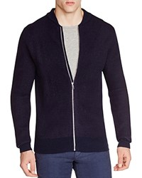 Scotch And Soda Zip Front Bomber Cardigan