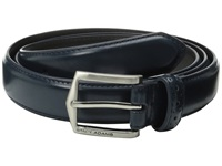 Stacy Adams 30Mm Pinseal Leather Belt X Blue Men's Belts