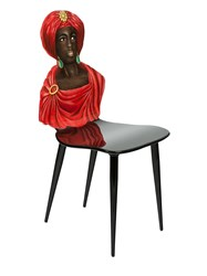 Fornasetti Sculpted Chair Red