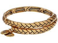 Alex And Ani Nature's Weave Wrap Bracelet Rafaelian Gold Bracelet