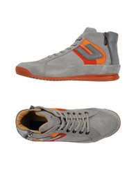 Cesare Paciotti 4Us Footwear High Tops And Trainers Men Grey