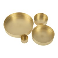 Tom Dixon Brass Orbit Trays Small