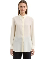 Salvatore Ferragamo Silk Crepe De Chine Shirt