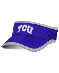 Top Of The World Tcu Horned Frogs Baked Visor Purple