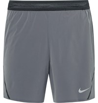 Nike Running Aeroswift Dri Fit Shorts Gray