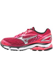 Mizuno Wave Inspire 13 Stabilty Running Shoes Persian Red Silver Black Pink