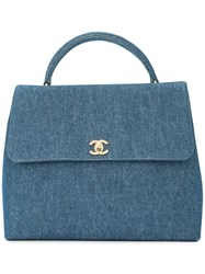 Chanel Vintage Cc Turnlock Tote Bag Unavailable