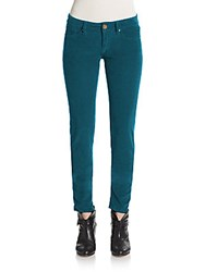 M Missoni Corded Skinny Pants Green