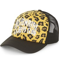 Billionaire Boys Club Leopard Print Trucker Cap Yellow