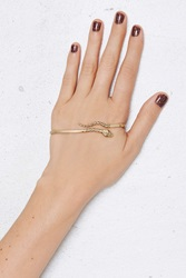 Nasty Gal Jenny Bird Cold Blooded Gold Plated Palm Cuff