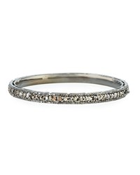 Bavna Champagne Diamond Pave Bangle