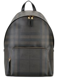 Burberry Housecheck Backpack Black