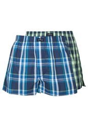 Tom Tailor 2 Pack Boxer Shorts Insignia Blue Dark Blue