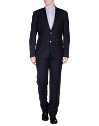 Maestrami Suits And Jackets Suits Men Dark Blue