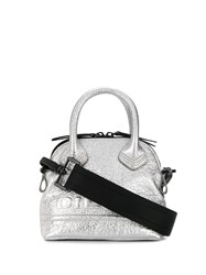 Diesel Pyaniga Metallic Mini Bag Silver