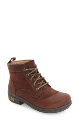 Alegria Women's By Pg Lite Izzy Water Resistant Bootie Hickory Brown Leather