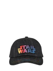 Etro Stars Wars Cotton Baseball Hat Black