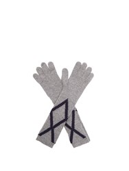 Max Mara Paolo Gloves Grey
