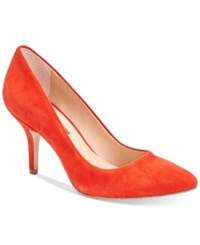 Inc International Concepts Womens Zitah Pointed Toe Pumps Only At Macy's Women's Shoes Spring Red