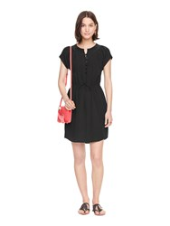 Kate Spade Pintuck Silk Dress