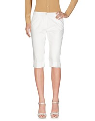 Perfection 3 4 Length Shorts White