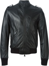 Dacute Zipped Jacket Black