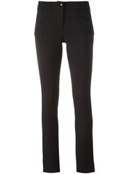 Philipp Plein Slim Fit Trousers Black
