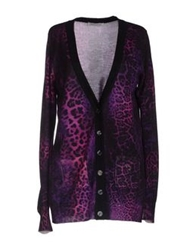 Angelo Marani Cardigans Purple