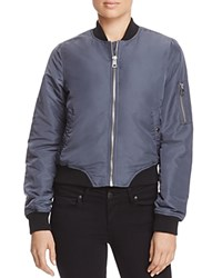 Vero Moda Dicte Color Block Bomber Jacket Ombre Blue