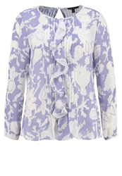 Banana Republic Dina Blouse Blue Multicoloured