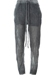 Lost And Found Rooms Tapered Trousers Grey