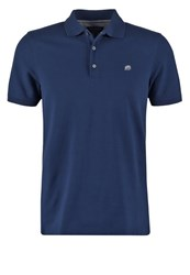 Banana Republic Polo Shirt Navy Star Dark Blue