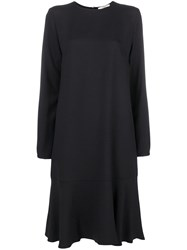 Odeeh Dropped Waist Dress Black