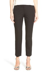 Women's Halogen Slim Stretch Cotton Blend Ankle Pants Black