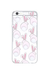 Forever 21 Pom Pom Bunny Iphone 6 6S 7 Case Pink White